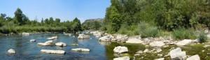 l'Ardèche près d'Aubenas